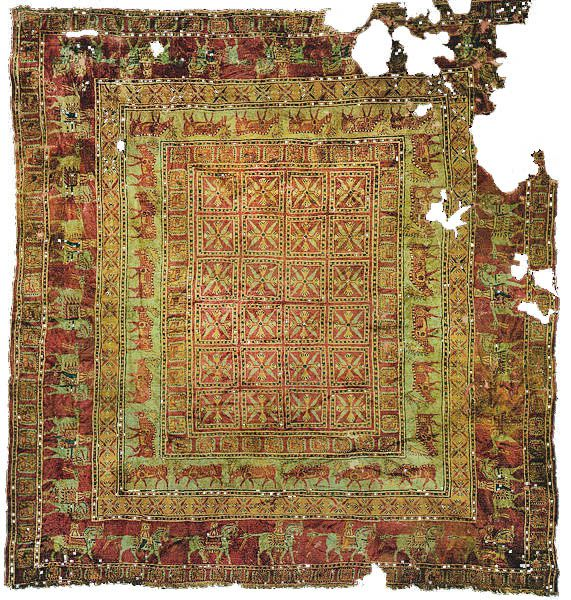 oldest rug in the world