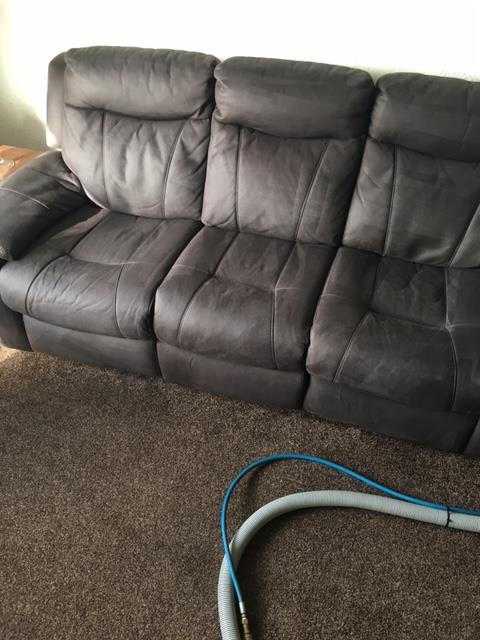 sofa cleaned