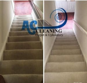 local Carpet cleaning stairs